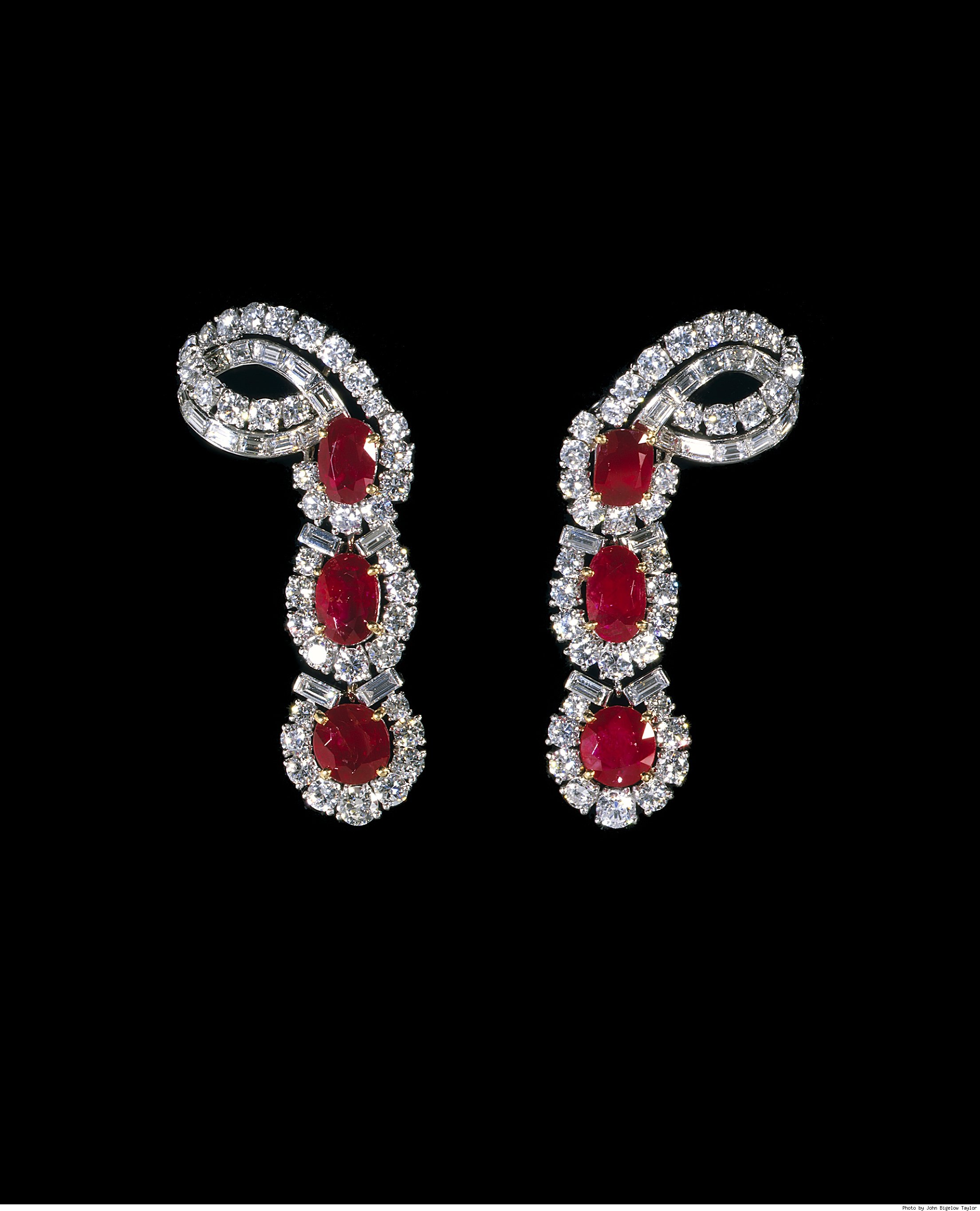 Ruby Cartier Earrings