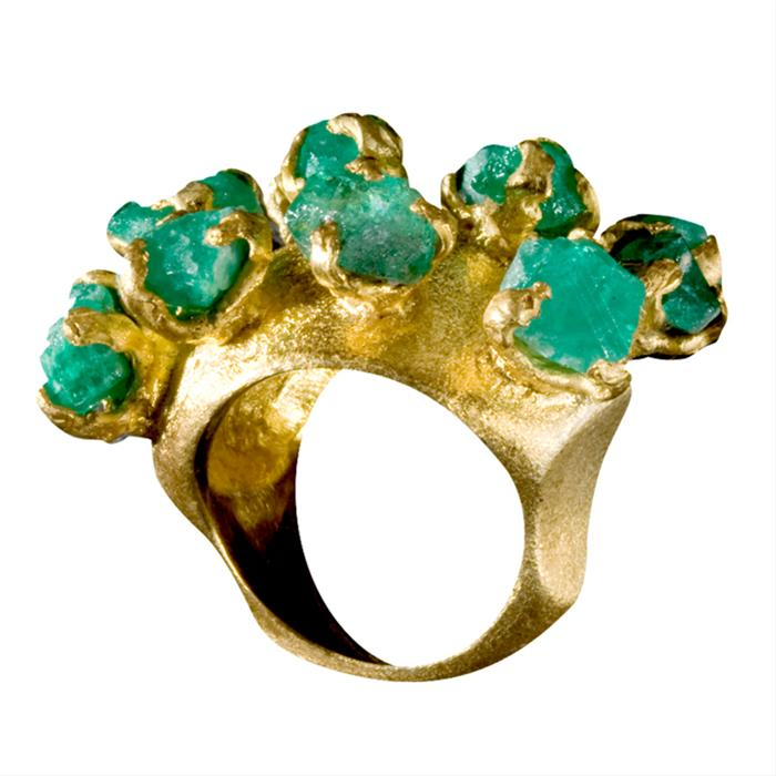 Emerald Arbolito Ring