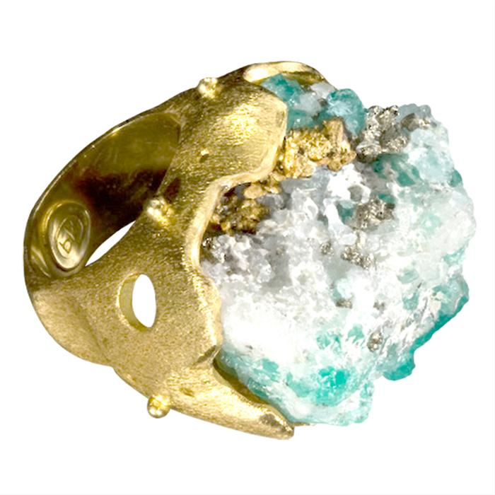Emerald Muso Ring 