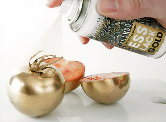Esslack Edible Gold Food Paint