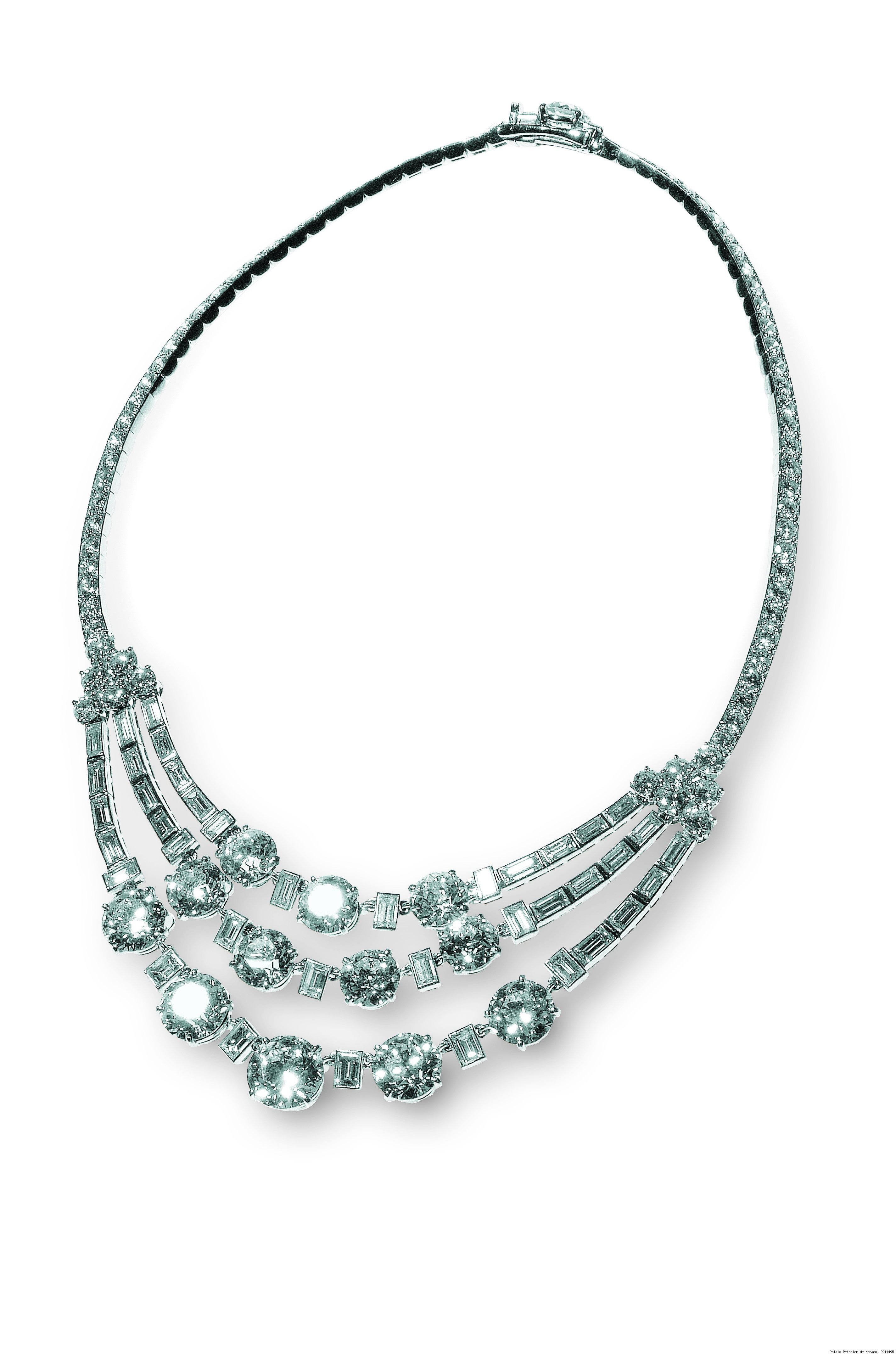 Riviere Diamond Necklace