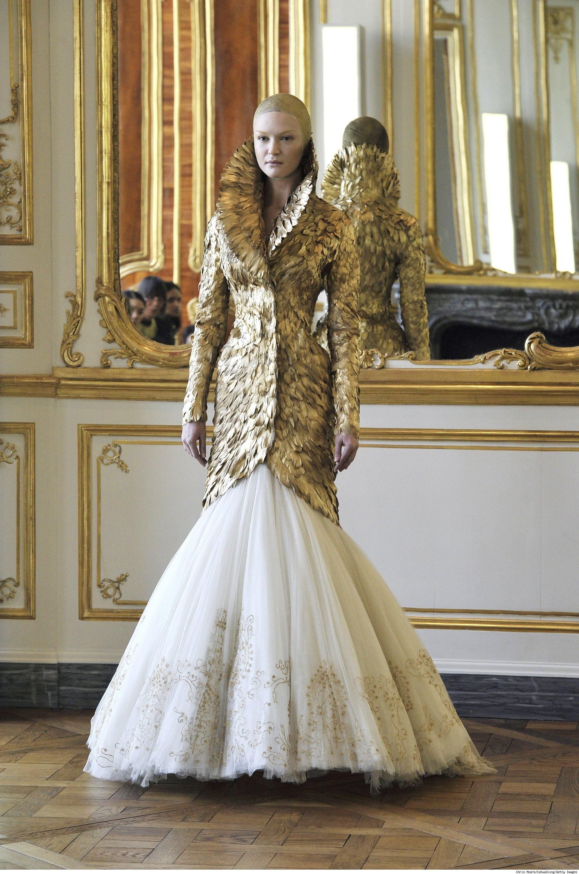Alexander McQueen Fashion Presentation