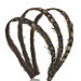 Jennifer Ouellette Triple Strand Feather Headband
