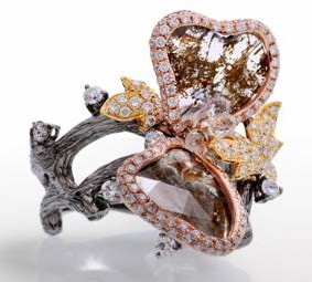 Lugano Diamonds Butterfly Ring