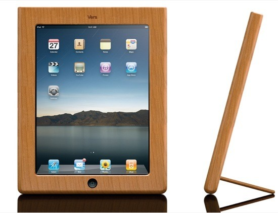 Vers iPad Wooden Case