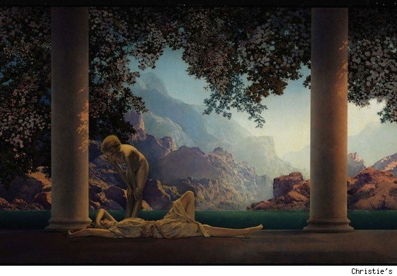 maxfield parrish art daybreak