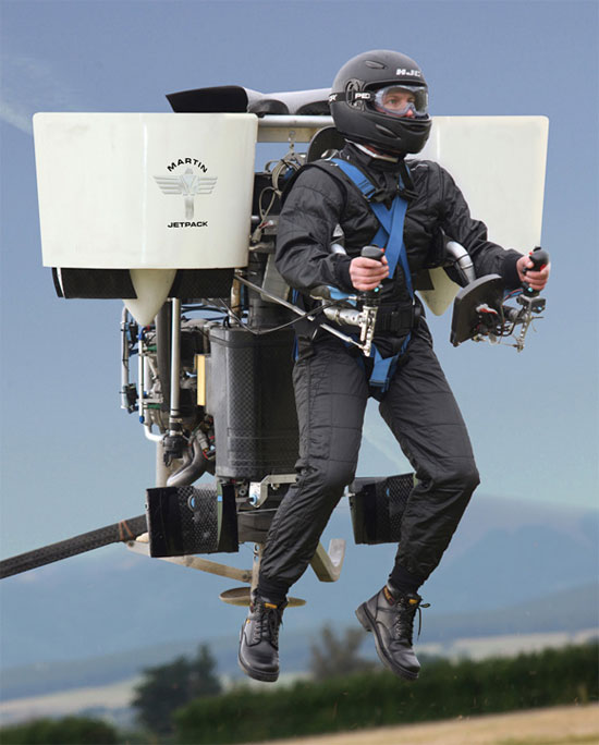 Martin Aircraft Company Jet Pack