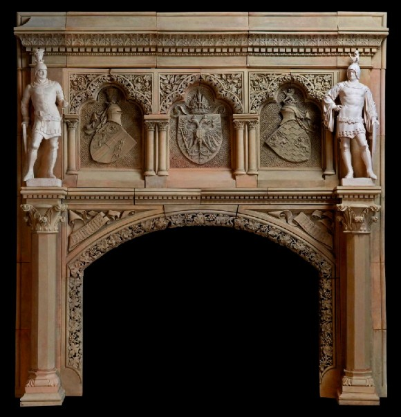 terracotta fireplace bohemia