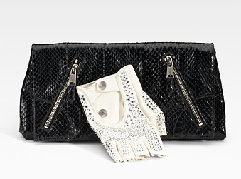Alexander McQueen Thriller Faithful Glove Clutch