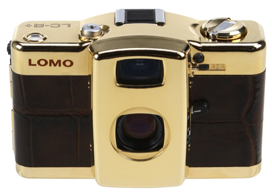 Lomography Limited Edition Gold Camera