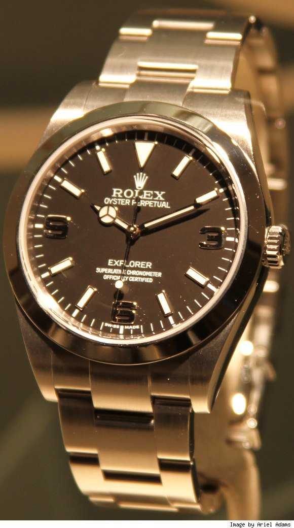 Now, in 2010, Rolex introduces