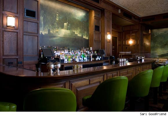 The Oak Bar in the Oak Room at The Plaza Hotel, New York