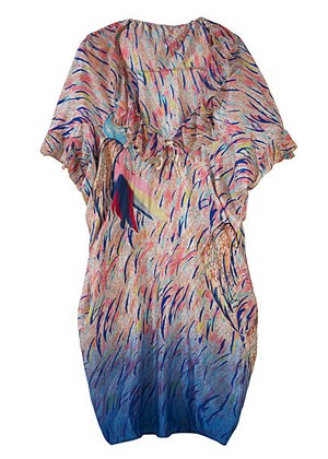 Tsumori Chisato Ruffled Tunic Dress