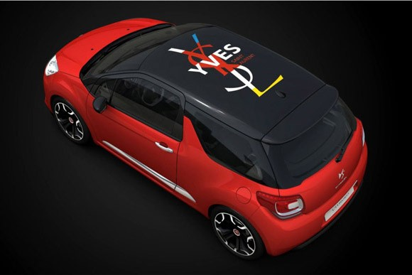 citroen ds3 for yves saint laurent