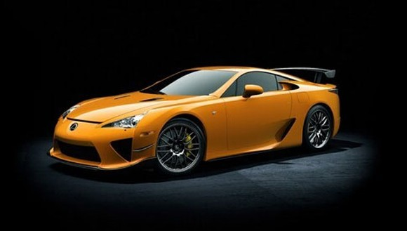 lexus lfa nurburgring track edition