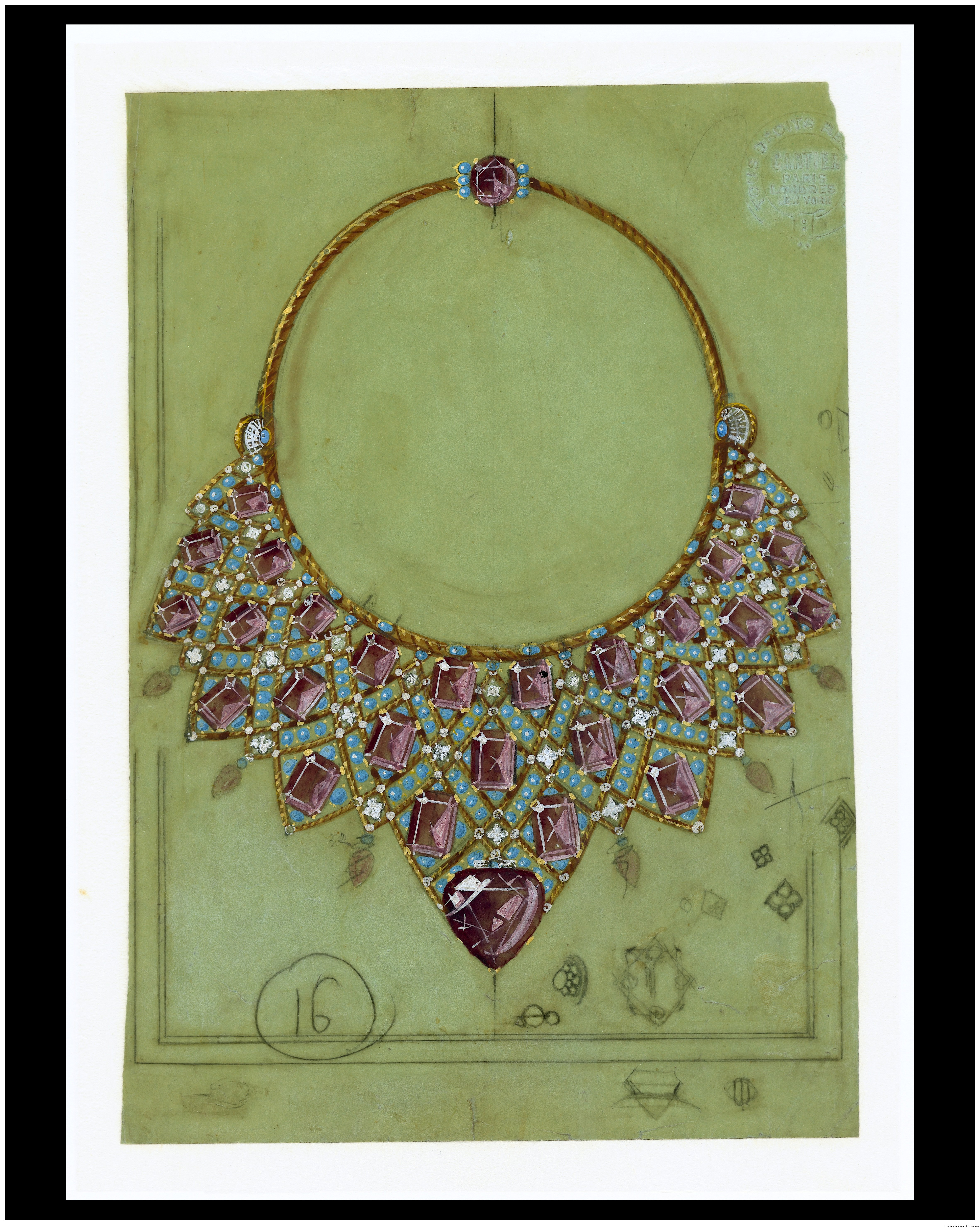 Cartier Bib Necklace