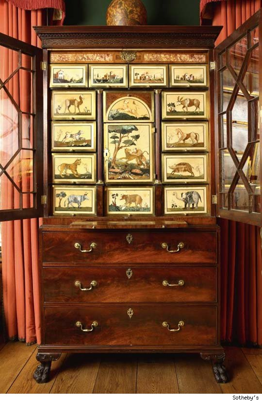 George II Cabinet on Chest