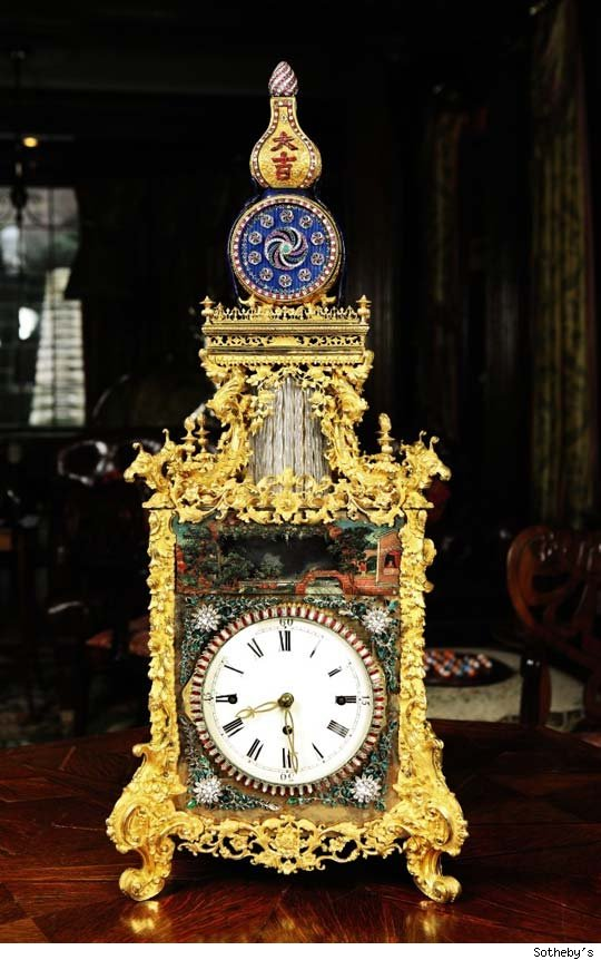 Qing Dynasty Table Clock