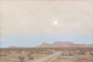 moonlight over mojave maynard dixon