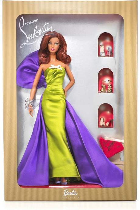 edition dolls has red hair 2011