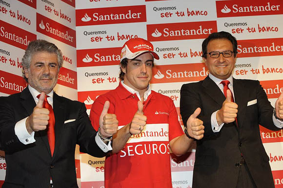 fernando alonso thumbs