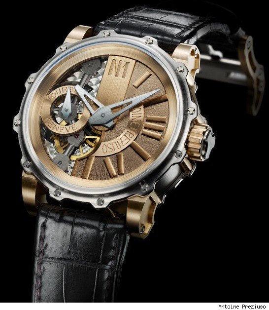 Antoine Preziuso Monumental Tourbillon 65mm Wide Watch