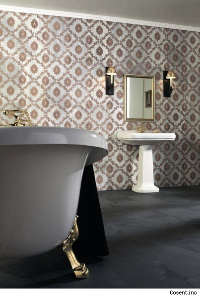 Gilded Bathroom