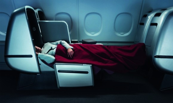 Qantas Business Class Pajamas