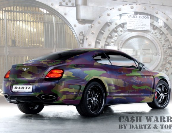 dartz bentley gt