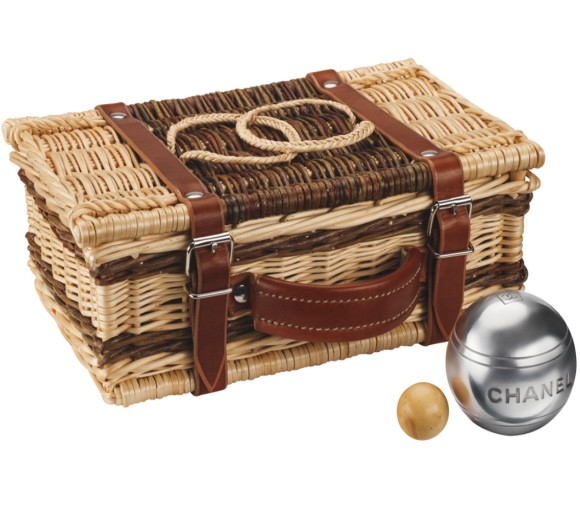 chanel bocce set