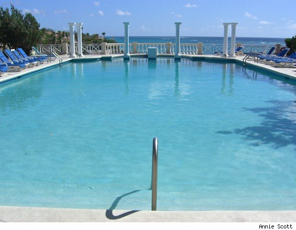 Historic ocean-view pool