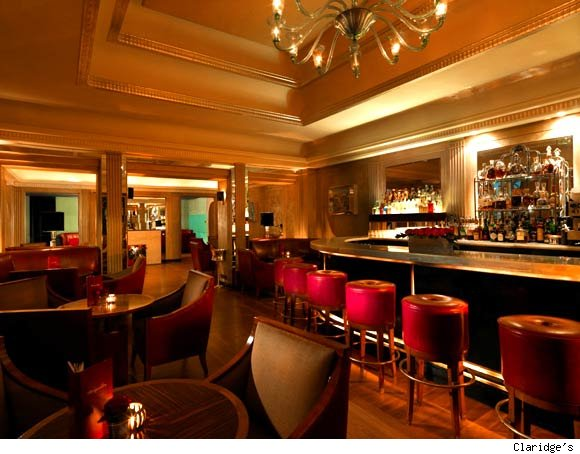 Claridge's Bar is nominated for Best Hotel Bar by Luxist Awards.