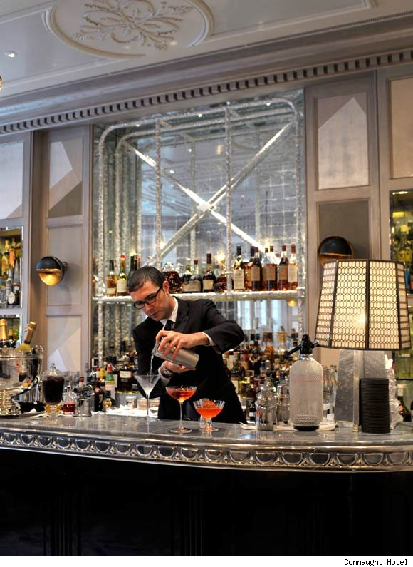 Coburg Bar at the Connaught Hotel is nominated for best hotel bar