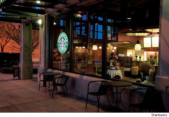 Starbucks is nominated for a Luxist Award for being one of the best coffee houses in the U.S.