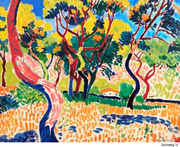 derain at vollard auction, sotheby's