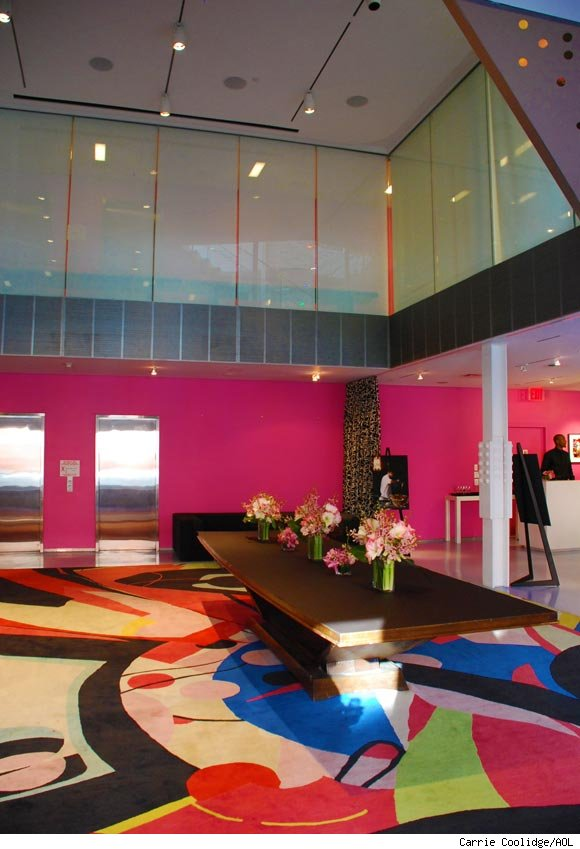Diane von Furstenberg's showroom and design facility in Manhattan.