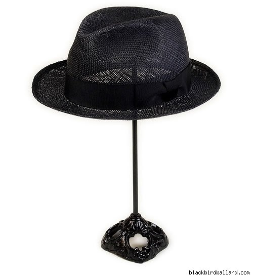 Robert Gellar Straw Fedora