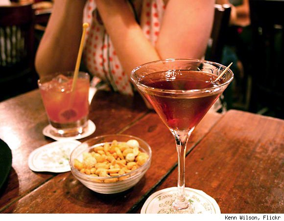 A Classic Manhattan at Harry's Bar