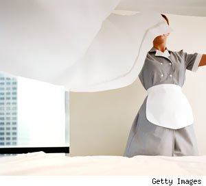 How to Tip a hotel housekeeper