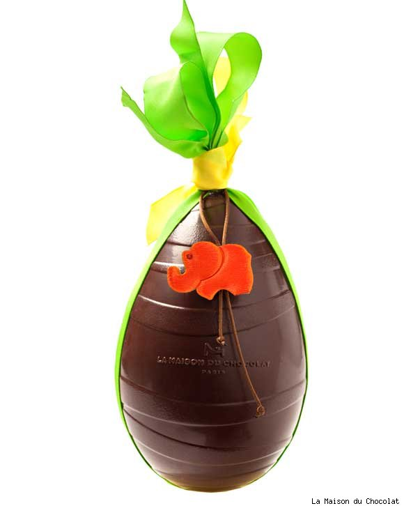 Chocolate Easter Egg by La Maison du Chocolat