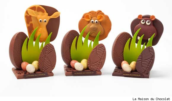 Chocolate Safari Animals by La Maison du Chocolat