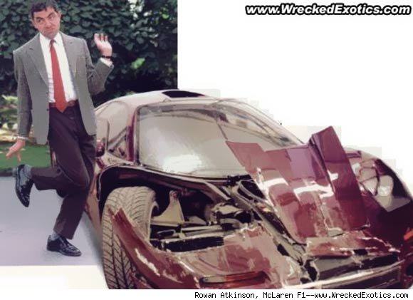 rowan atkinson mclaren