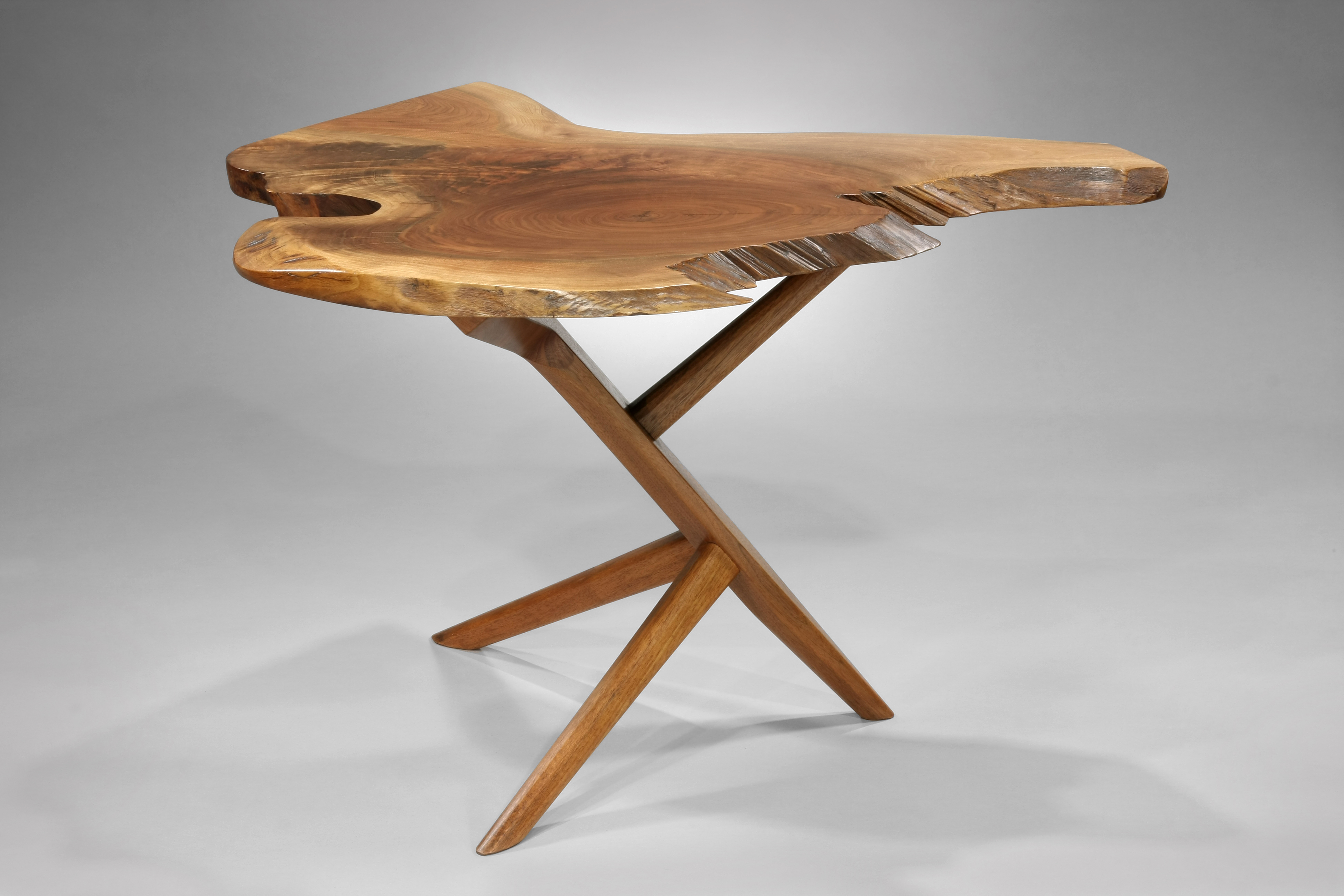 Marvelous photograph of George Nakashima Wooden Table (10 of 24) Images Frompo with #3E2412 color and 3888x2592 pixels