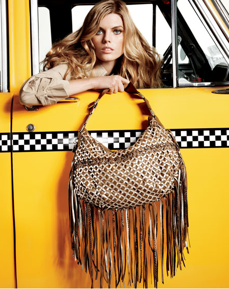 Marc Jacobs Boho Woven Hobo