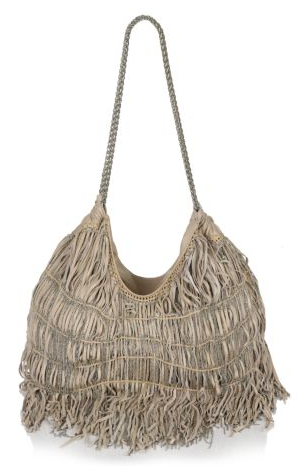 Elie Tahari Sasha Fringed Leather Tote