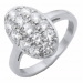 Bella's Engagement Ring, White Gold