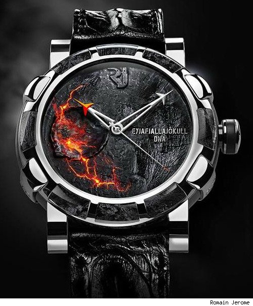 romain jerome volcano watch