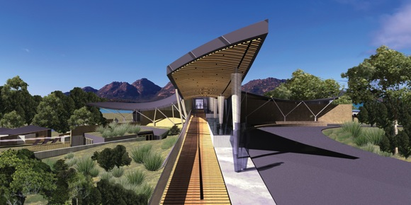 Saffire Resort's Dramatic Architecture (Rendering)
