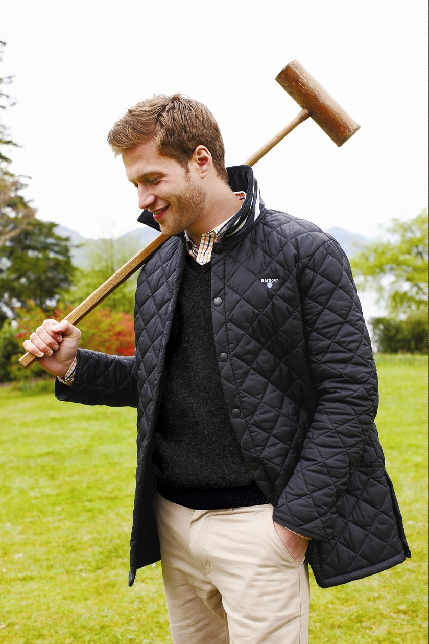 Preppy Liddesdale jacket