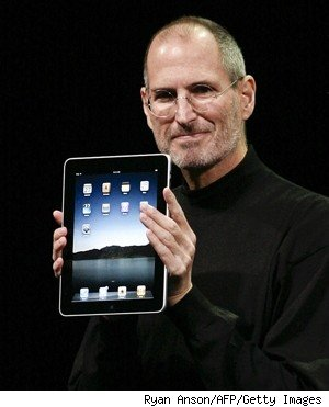 steve jobs ipad